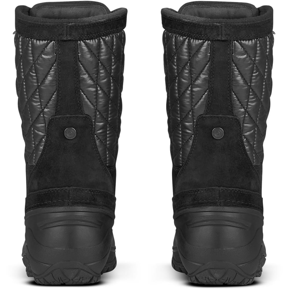 THE NORTH FACE Women's Thermoball Utility Mid Boots, Black - TNF BLK/TNF BLK-ZT1