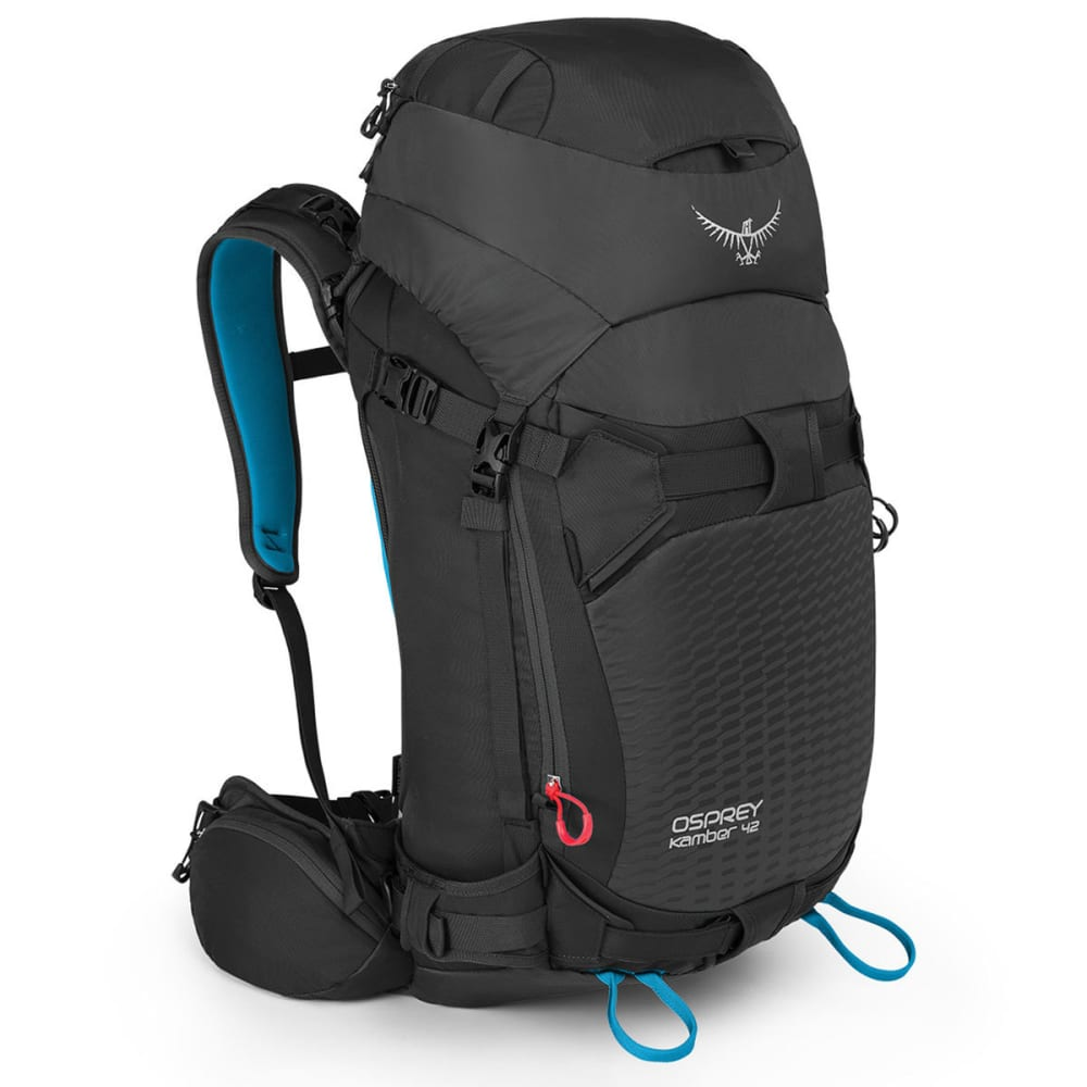 OSPREY Kamber 42 Ski Pack - GALACTIC BLACK