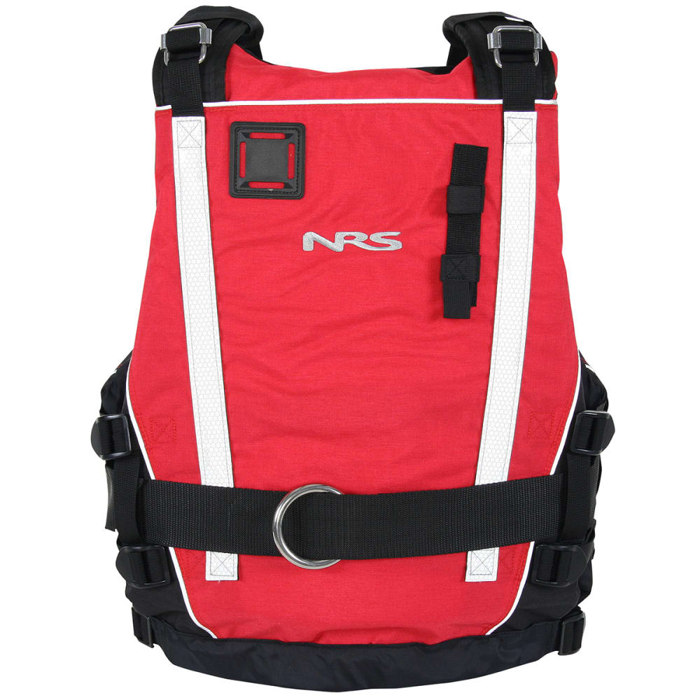 NRS Rapid Rescuer PFD Life Jacket - RED