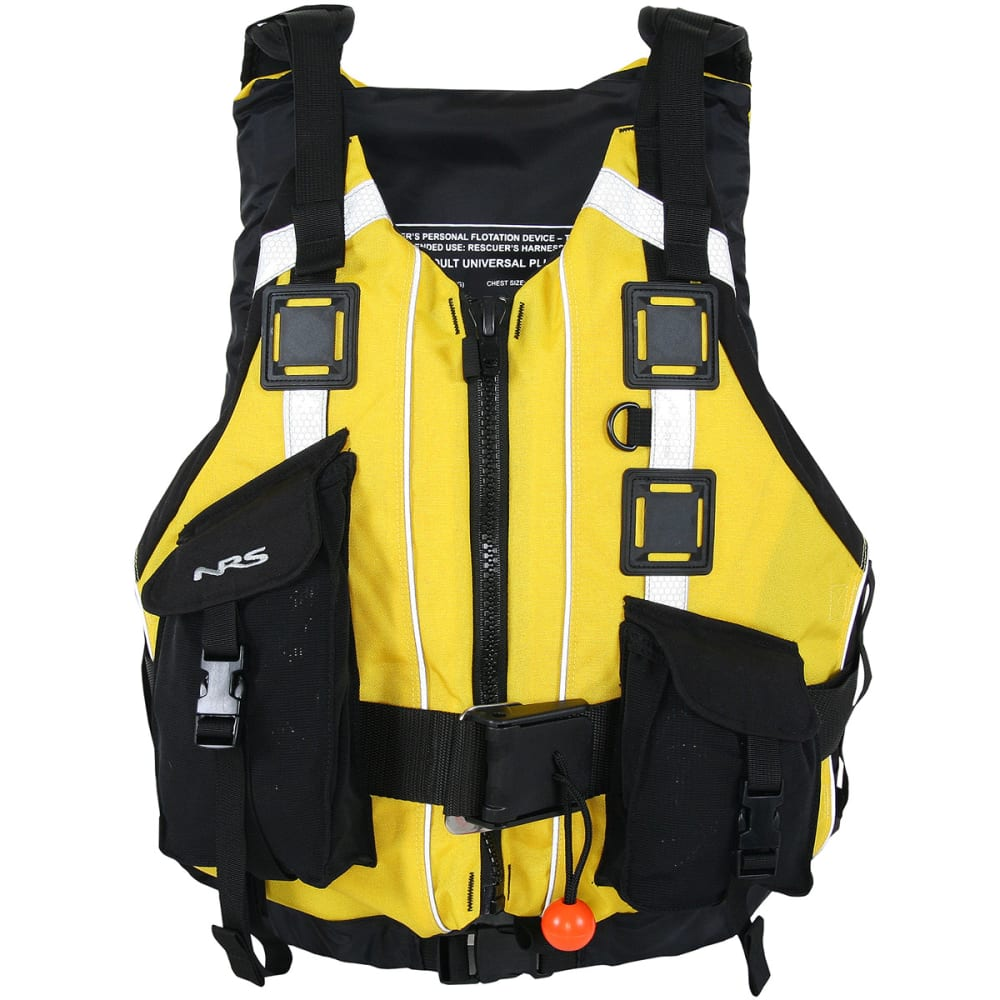 NRS Rapid Rescuer PFD Life Jacket - YELLOW