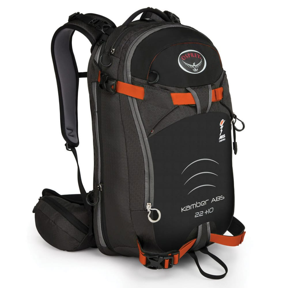 OSPREY Kamber ABS 22+ 10 Ski Pack - BLACK