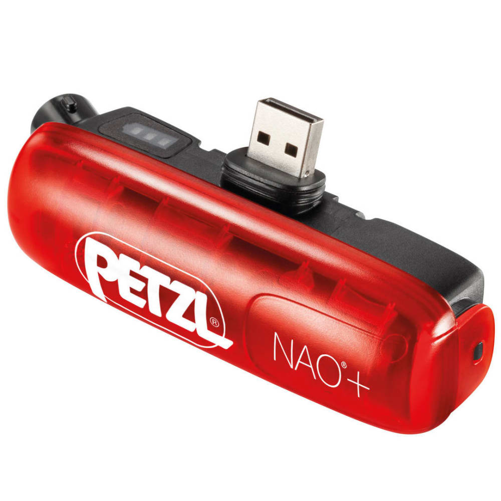 PETZL ACCU NAO+ Rechargeable Battery - RED