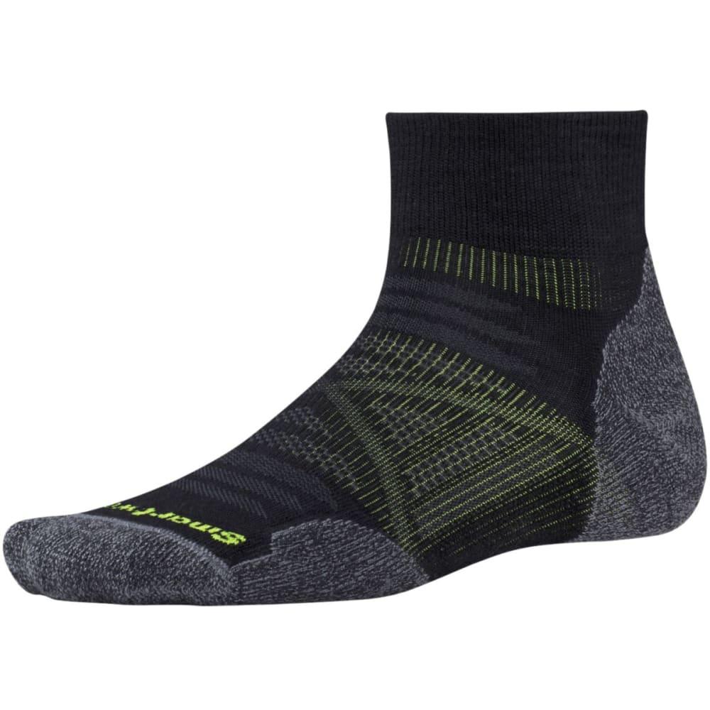 SMARTWOOL Men's PhD Outdoor Light Mini Socks - BLACK-001