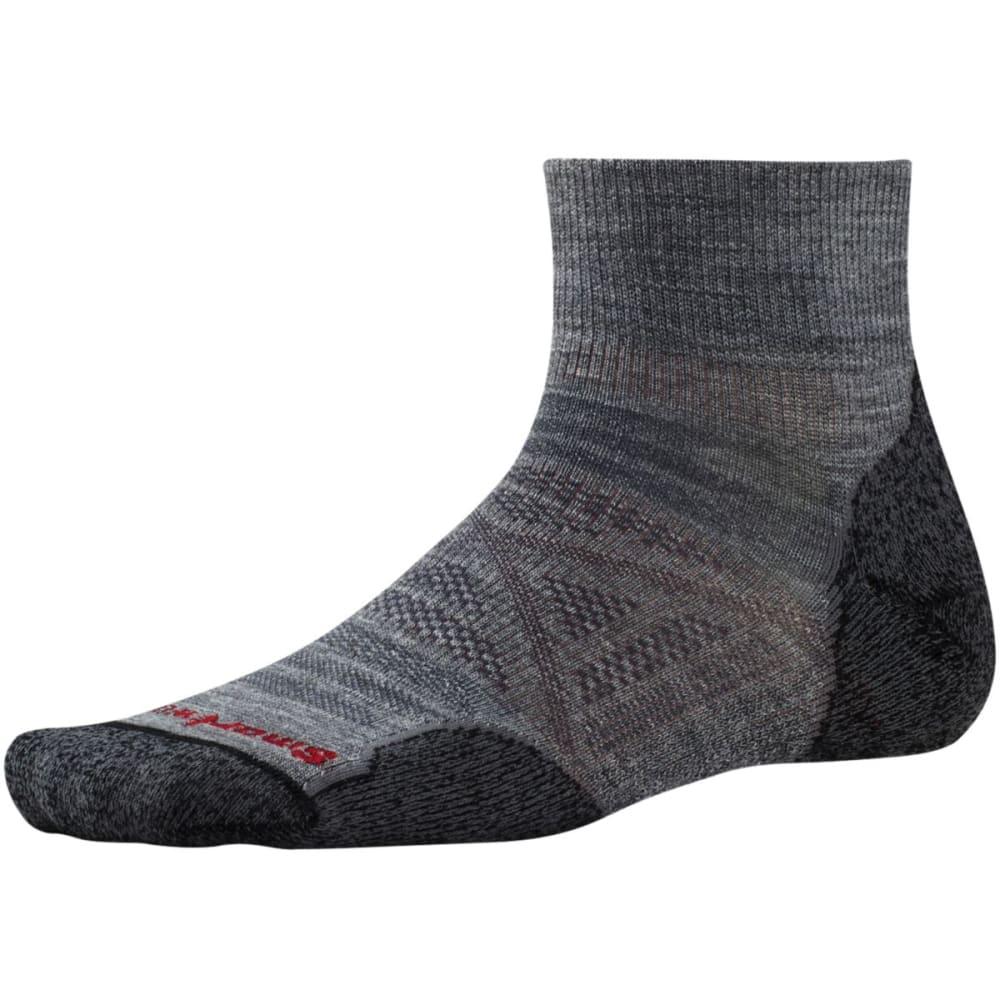 SMARTWOOL Men's PhD Outdoor Light Mini Socks - MED GREY-052