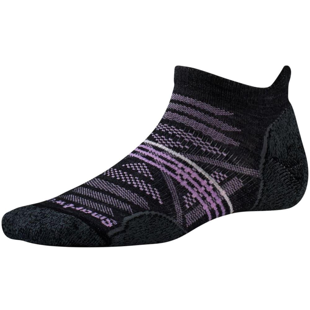 SMARTWOOL Women's PhD Outdoor Light Micro Socks - CHARCOAL-003