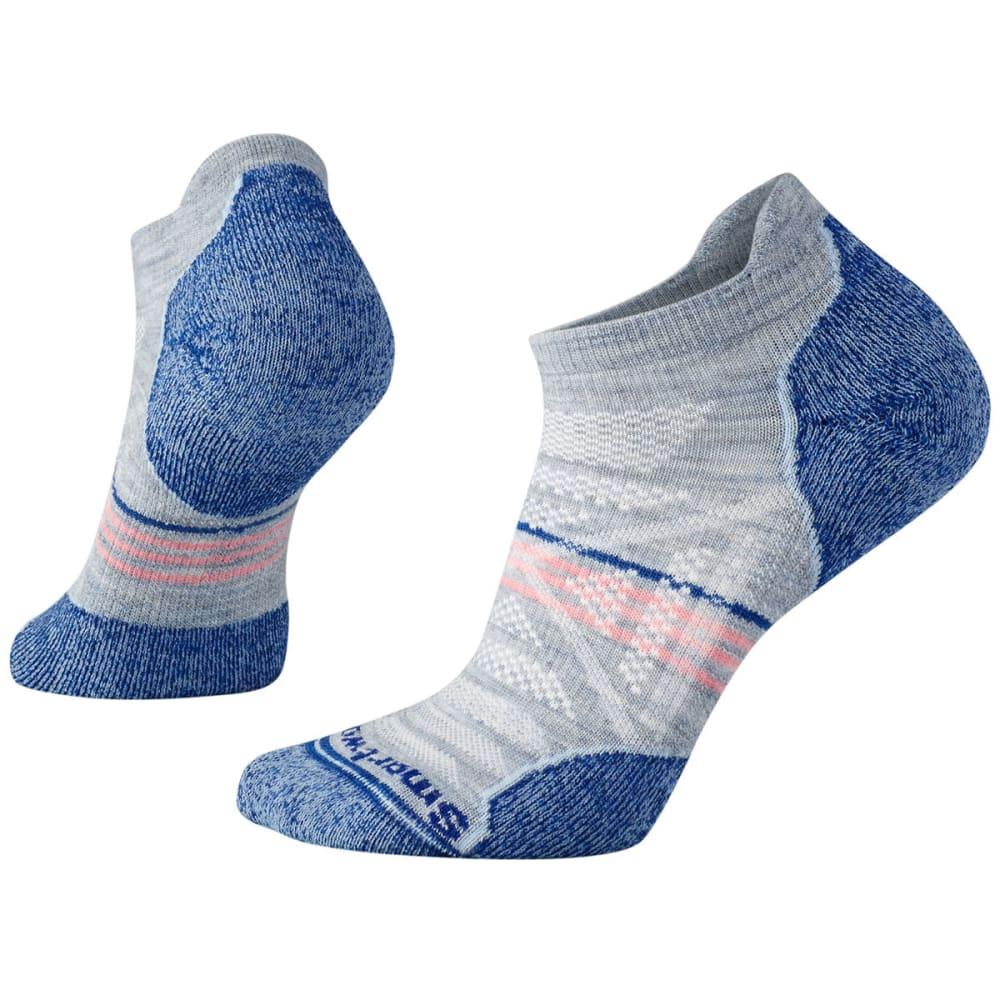 SMARTWOOL Women's PhD Outdoor Light Micro Socks - 597-BLUE ICE