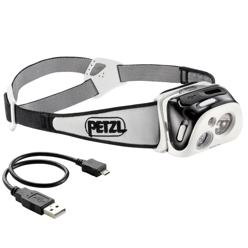 PETZL REACTIK Headlamp - BLACK E92 HNE
