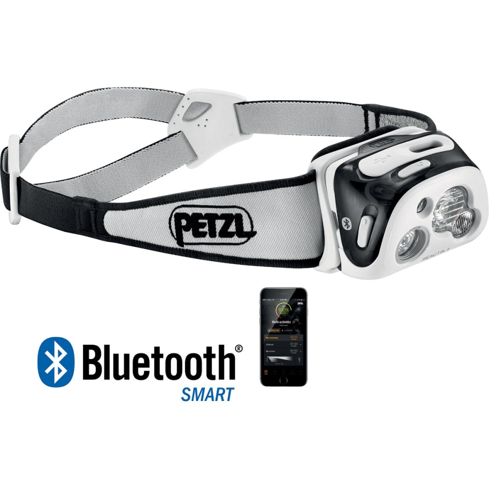 PETZL REACTIK+ Headlamp - BLACK E95 HNE