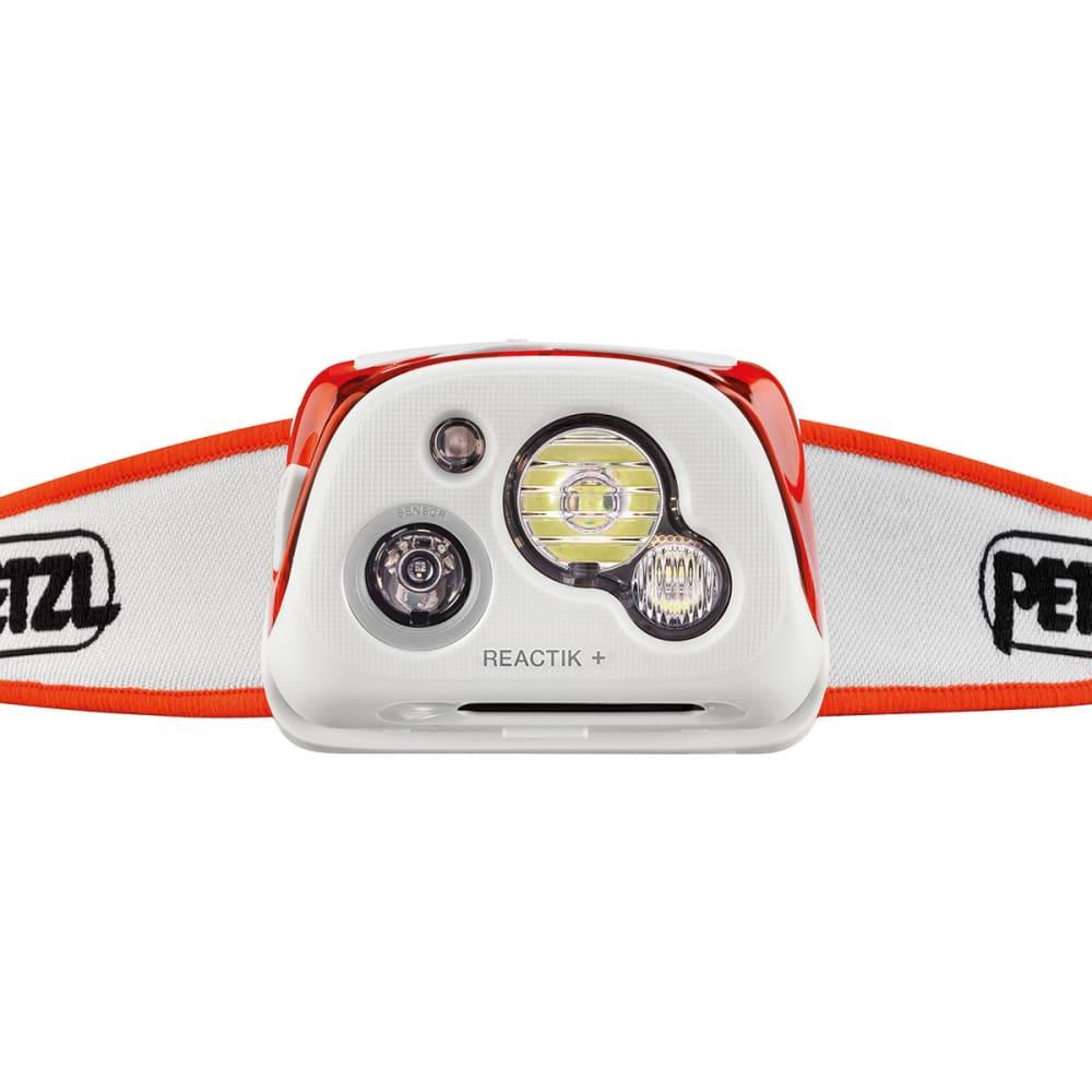 PETZL REACTIK+ Headlamp - ORANGE E95 HMI