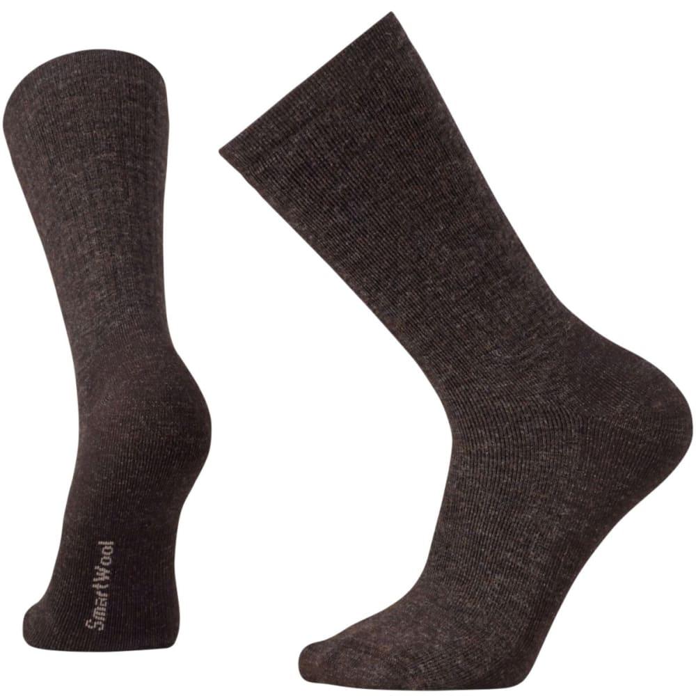 SMARTWOOL Men's Heavy Heathered Rib Socks - CHESTNUT-207
