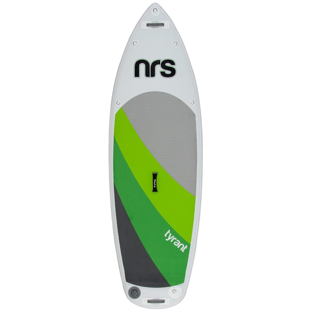 NRS Tyrant 4 Inflatable Standup Paddleboard - GRAY/GREEN