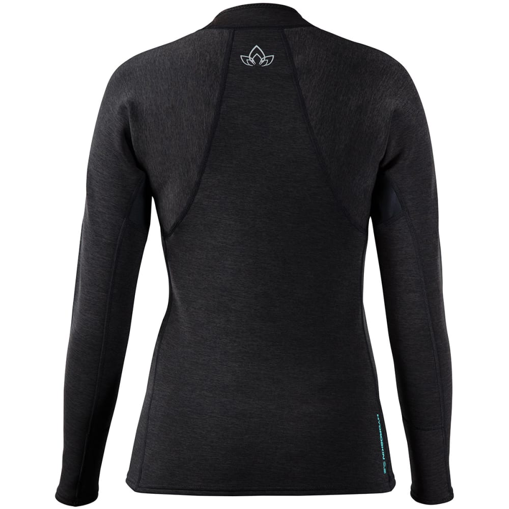 NRS Women's HydroSkin 0.5 Jacket - CHARCOAL HEATHER