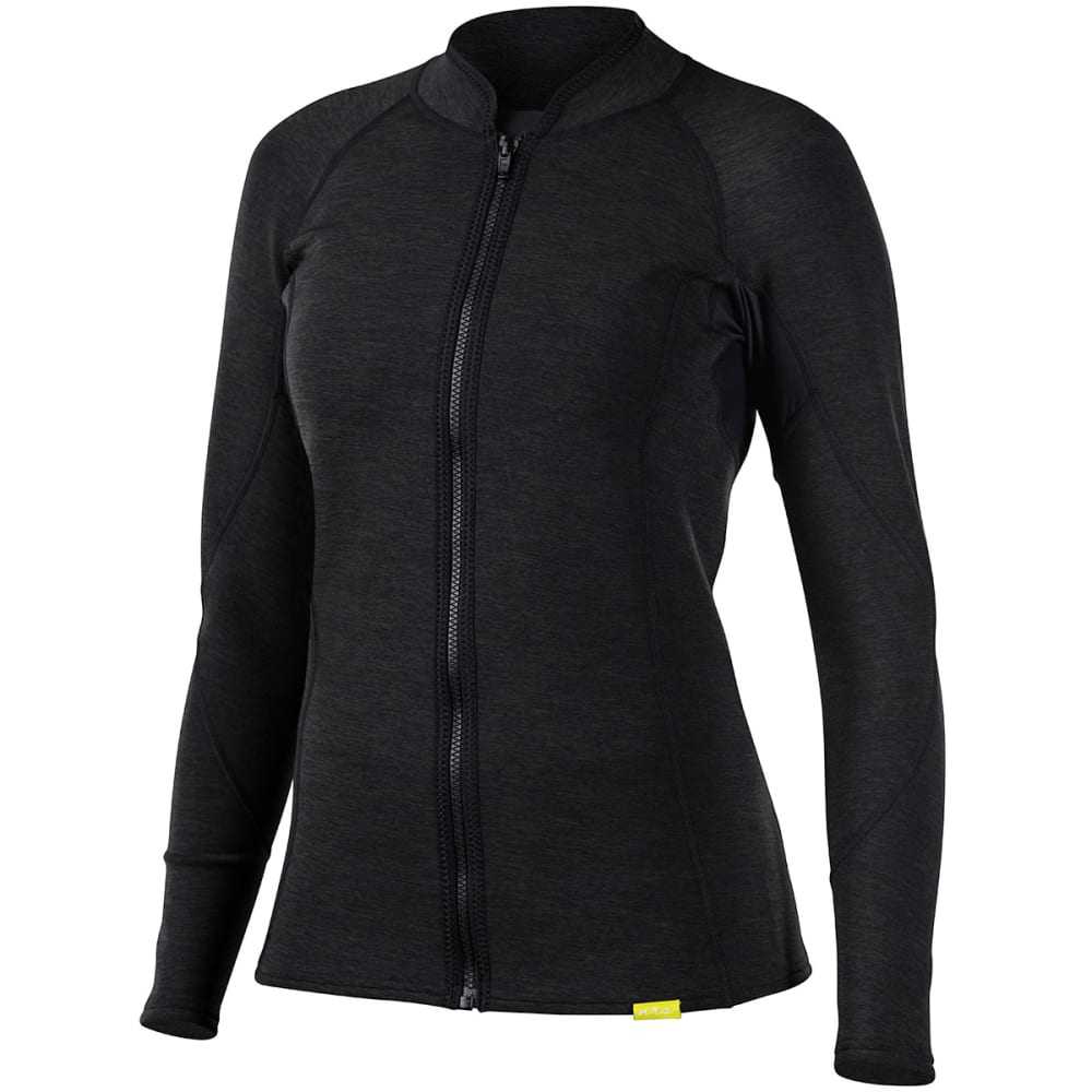 NRS Women's HydroSkin 0.5 Jacket - CHARCOAL HEATHER