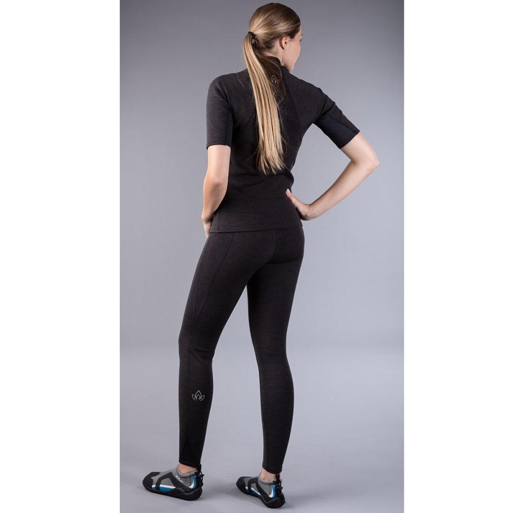 NRS Women's HydroSkin 0.5 Pants - CHARCOAL HEATHER