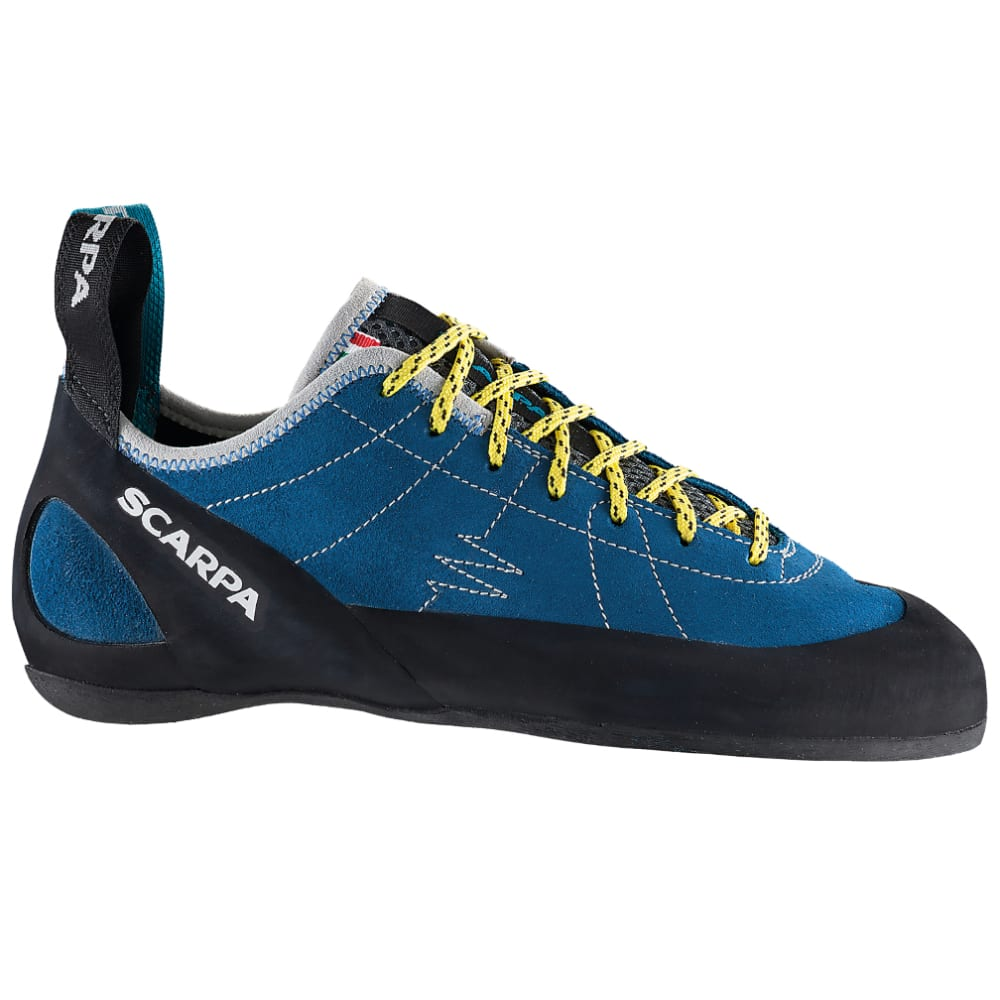Scarpa Men's Helix Rock Climbing Shoes - Blue - Size 43 70005001