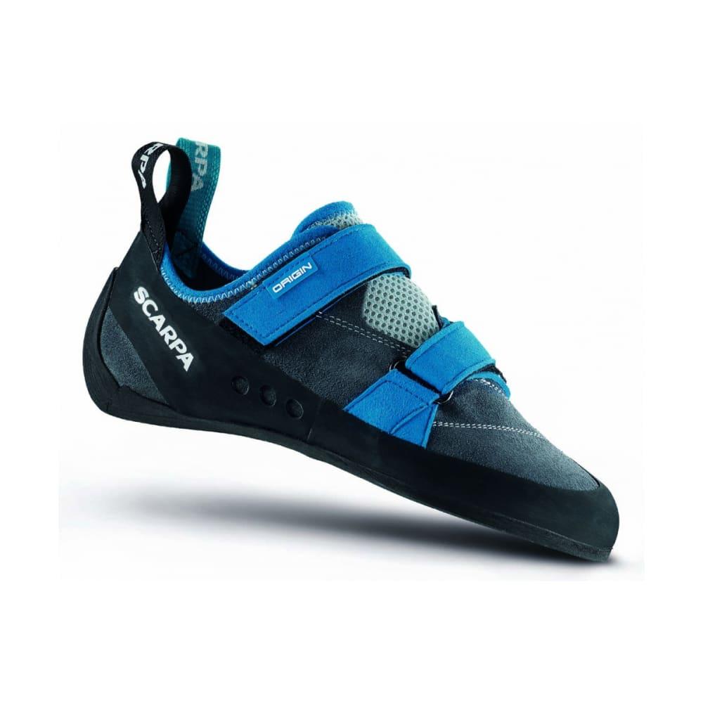 SCARPA Men's Origin Climbing Shoes - IRON GREY