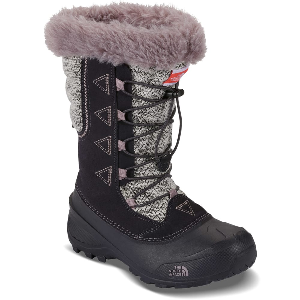 THE NORTH FACE Girls' Shellista Lace Novelty II Boots - GREY
