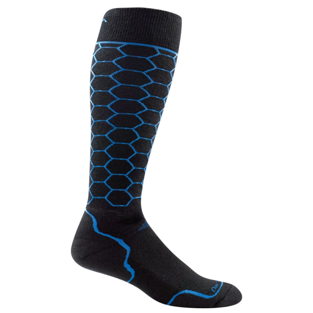 DARN TOUGH Men's Honeycomb Over the Calf Light Ski Sock - ROYAL