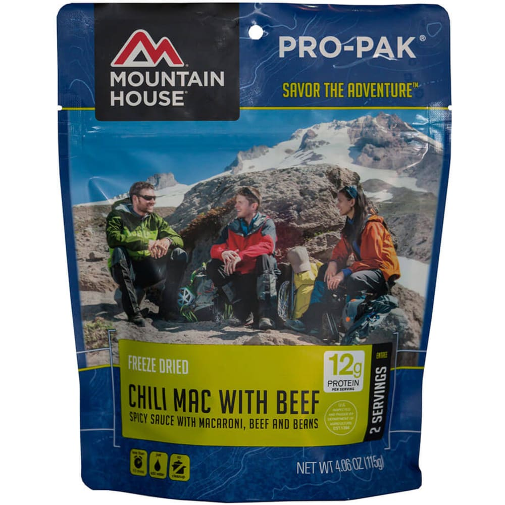 MOUNTAIN HOUSE Pro-Pak Chili Mac - NO COLOR