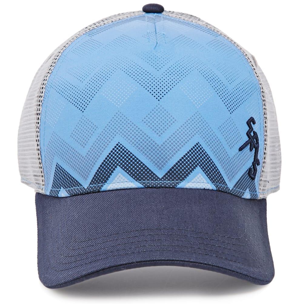 EMS® Stochastic Chevron Trucker Hat - BLUE DEPTHS