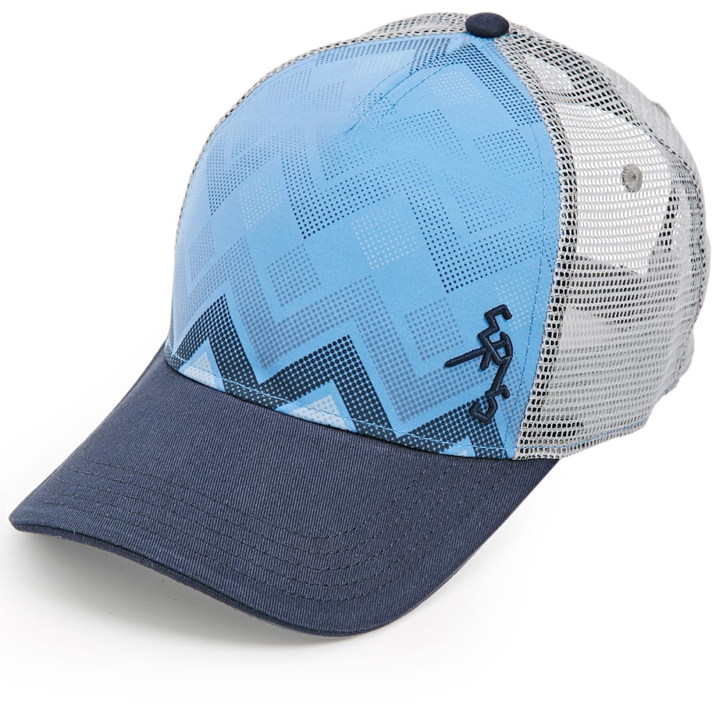 EMS® Stochastic Chevron Trucker Hat - BLUE DEPTHS
