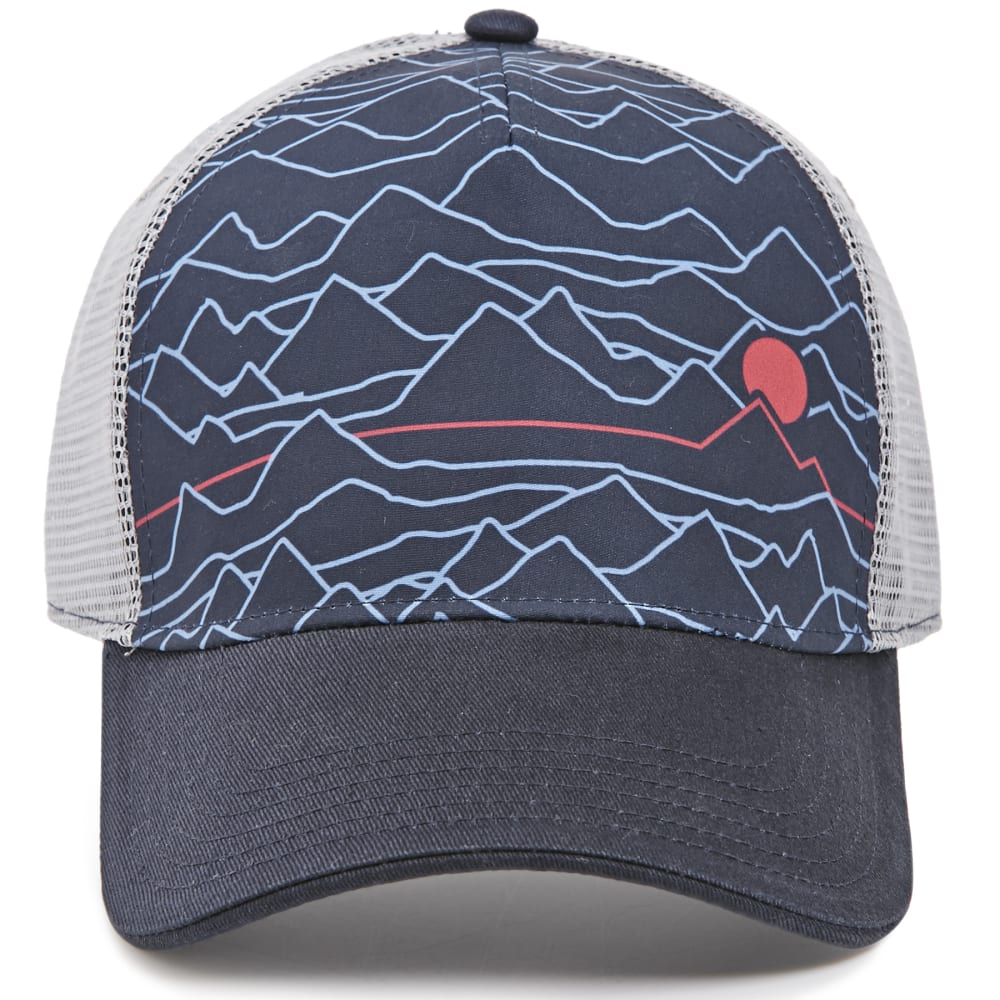 EMS® Cartogram Trucker Hat - NAVY BLAZER