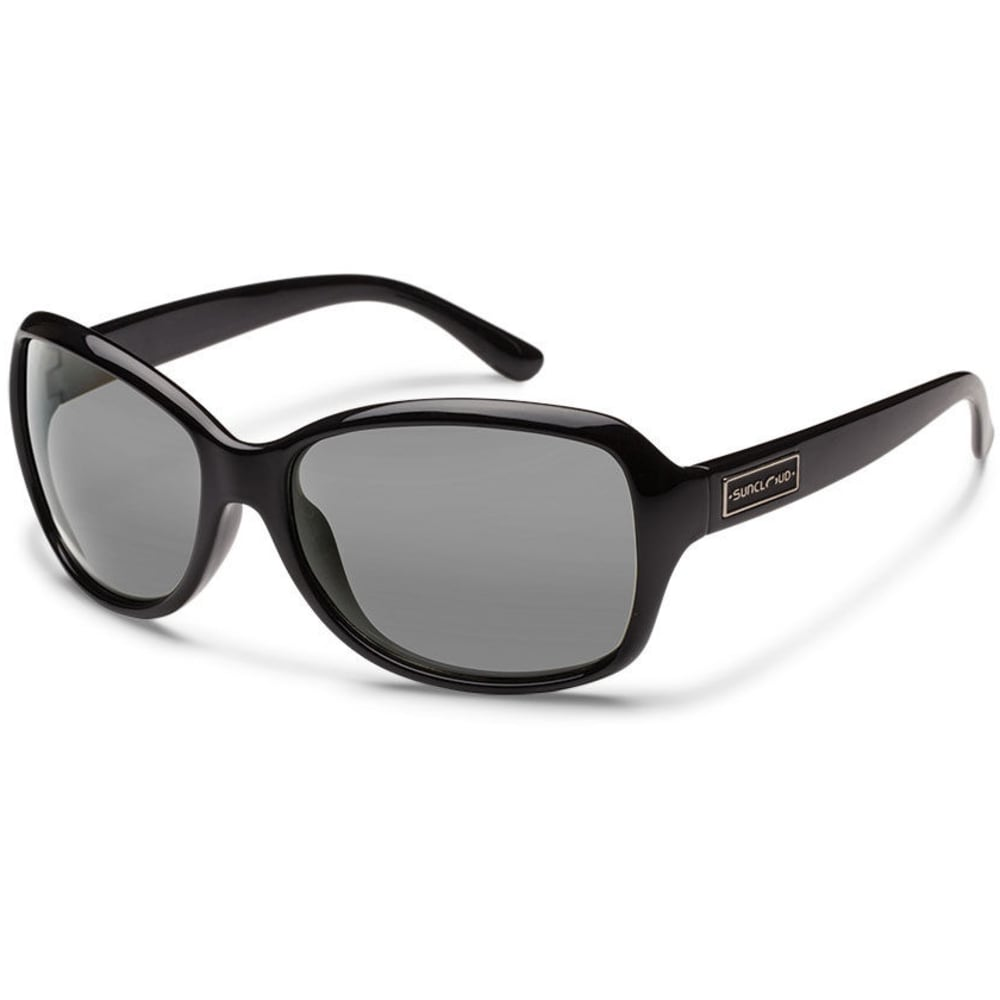 SUNCLOUD Women's Mosaic Polarized Sunglasses with Polycarbonate Lenses - BLACK