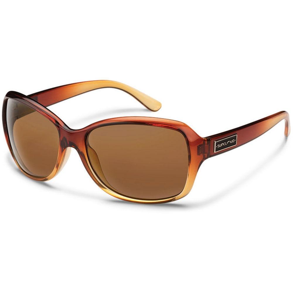 SUNCLOUD Women's Mosaic Polarized Sunglasses with Polycarbonate Lenses - BROWN