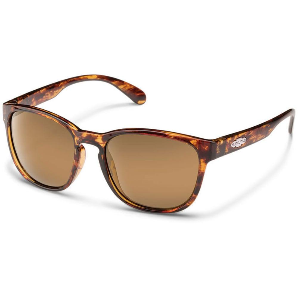 SUNCLOUD Unisex Loveseat Polarized Sunglasses - TORTOISE
