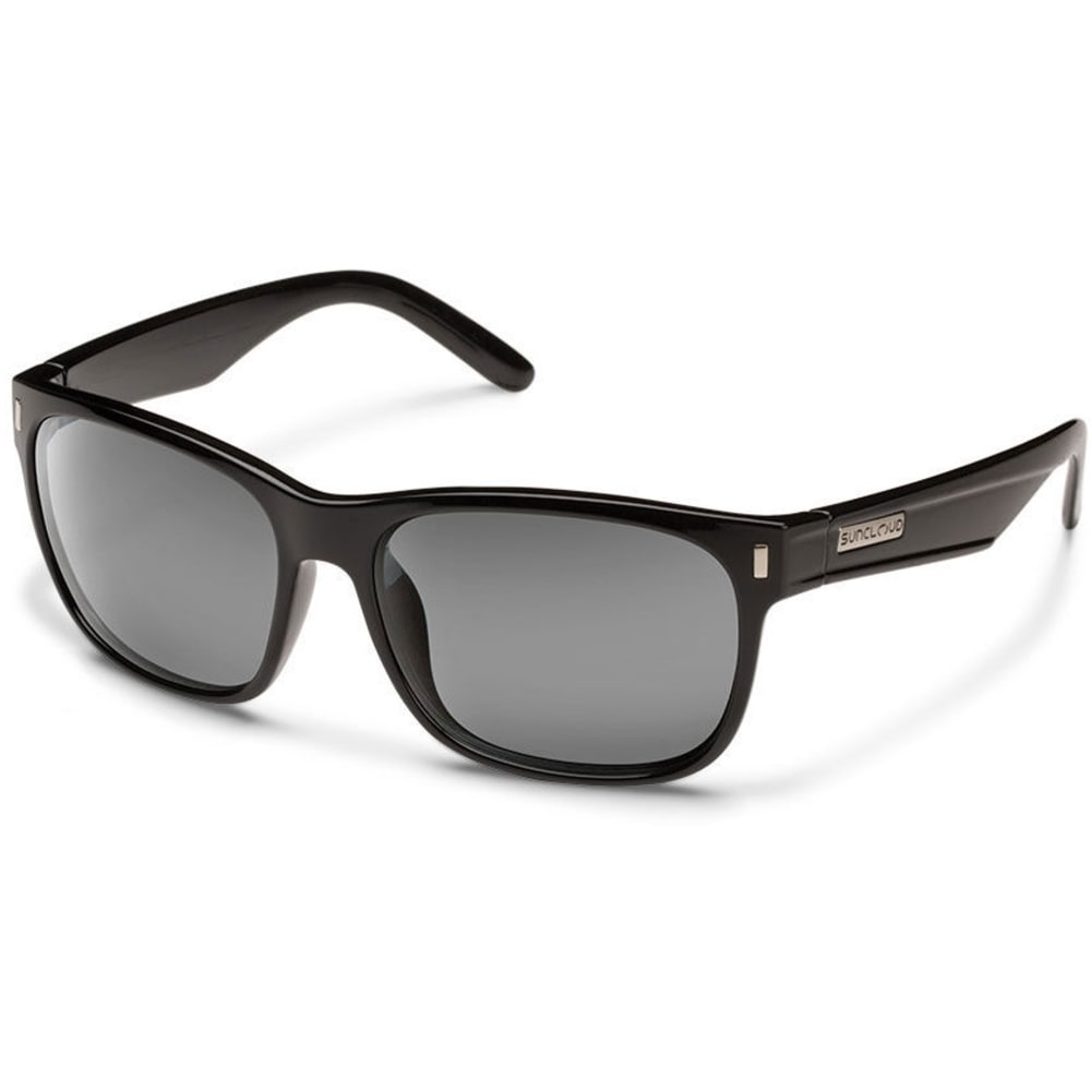 SUNCLOUD Dashboard Polarized Sunglasses - BLACK