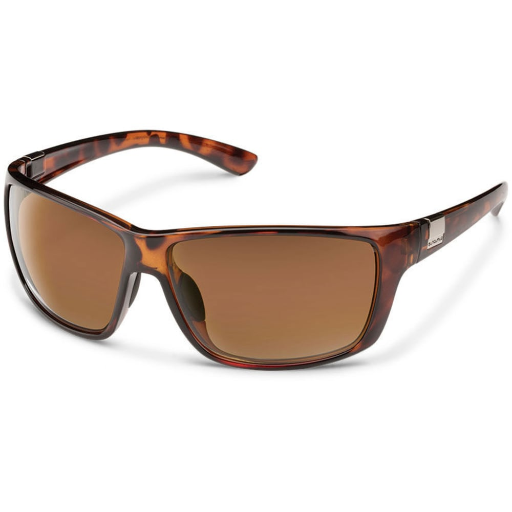 SUNCLOUD Men's Councilman Sunglasses with Polycarbonate Lenses - TORTOISE BROWN