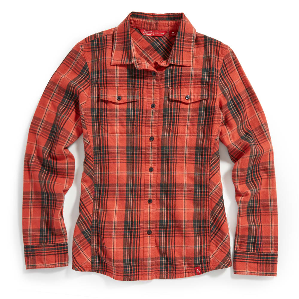 EMS® Women's Timber Flannel Shirt - BAKED APPLE PLAID