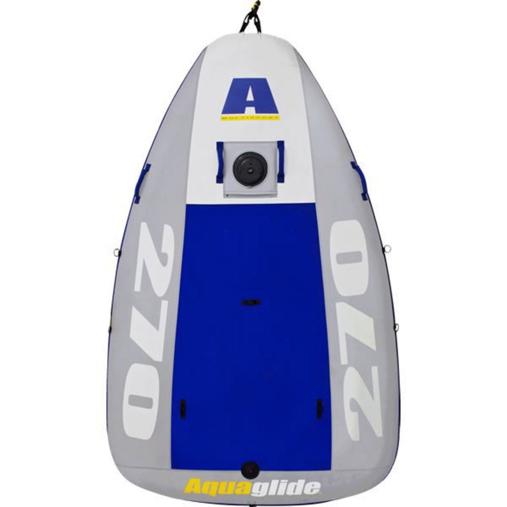 AQUAGLIDE Multisport PVC Hull Kit - WHITE/BLUE