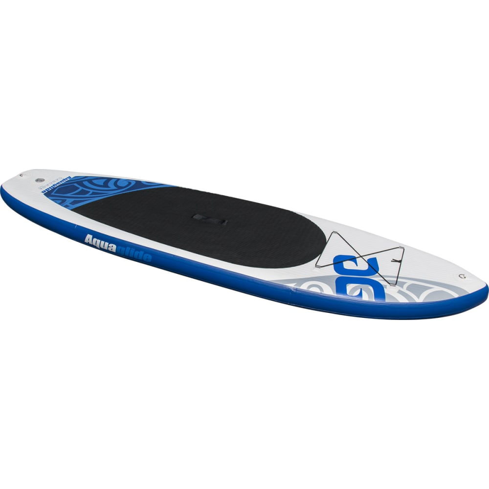 "AQUAGLIDE Cascade 10'0"" Inflatable SUP Board - WHITE/BLUE"