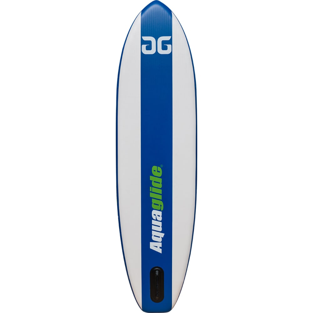 "AQUAGLIDE Cascade 11'0"" ISUP Board - GREEN/WHITE/BLUE"