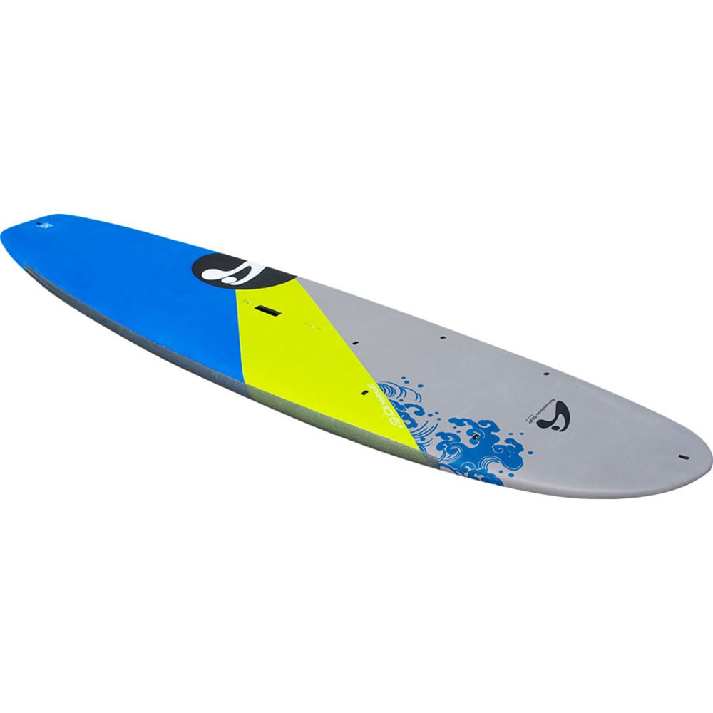"AMUNDSON Spark 10'6"" SUP Board - LIME/WHITE/DARK BLUE"