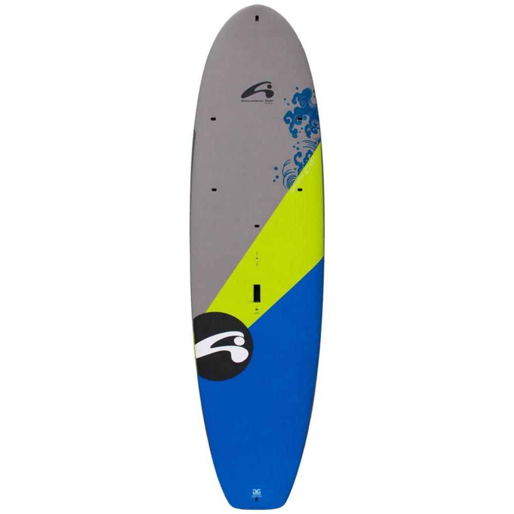 "AMUNDSON Spark 10'6"" SUP Board - LIME/WHITE/DARK BLUE"