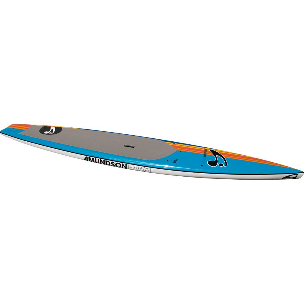 "AMUNDSON 10'6"" TR-K SUP Board - NAVY/YELLOW/ORG/BLU"