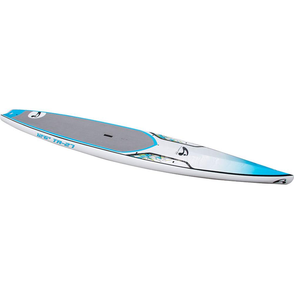 "AMUNDSON 12'6"" TR-27 SUP Board - BLUE/ORANGE"