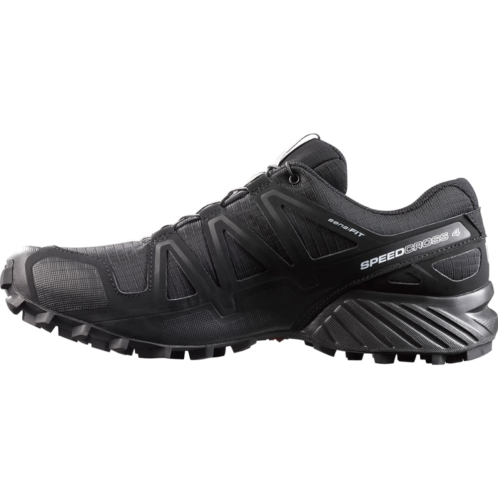 SALOMON Men's Speedcross 4 Trail Running Shoes, Black - BLACK