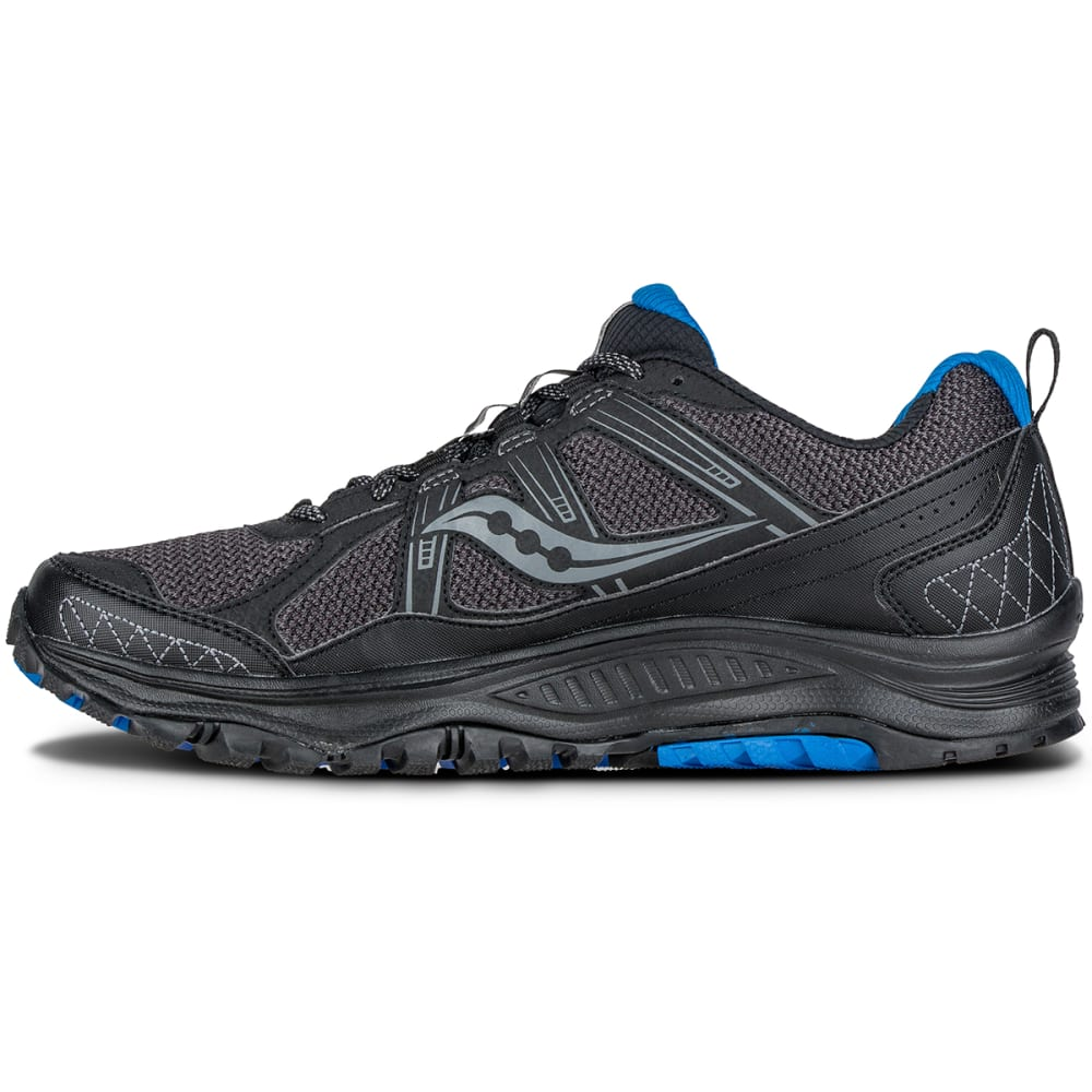 Saucony bonds a lightweight plastic film to the Guide ISO's upper. Dubbed FlexFilm, the material boosts the support of the shoe's mesh construction, without tacking on heavy, stiff overlays.