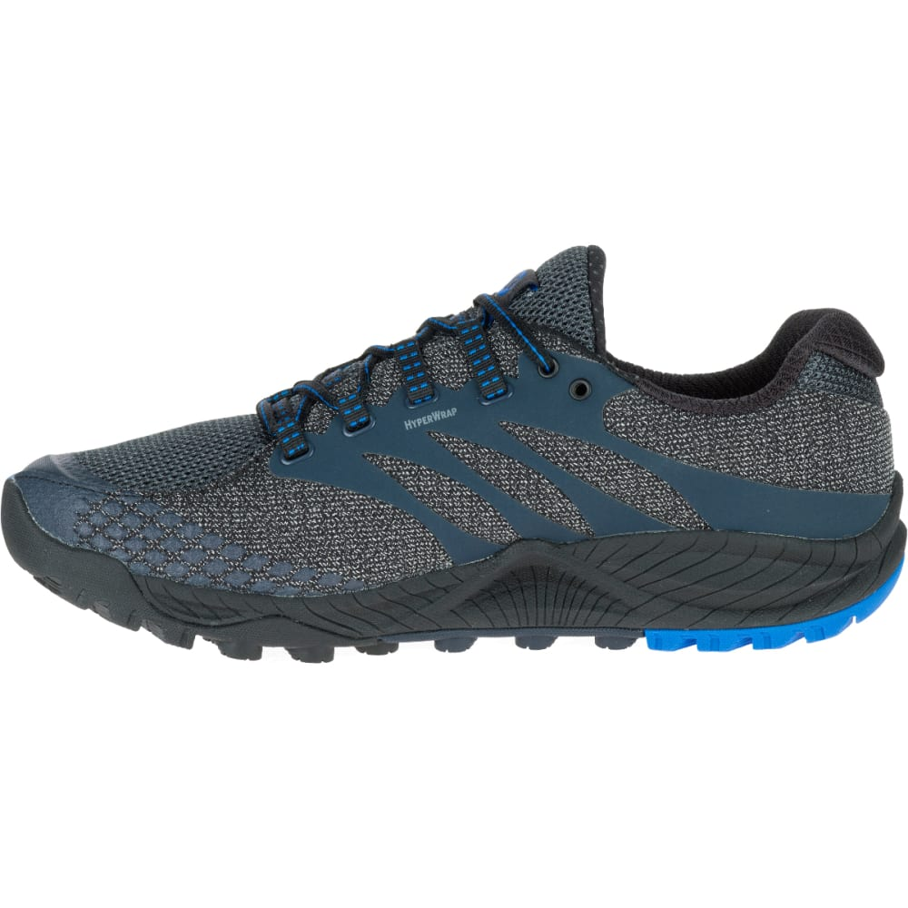 MERRELL Men's All Out Charge Running Shoe, Dark Slate - DARK SLATE