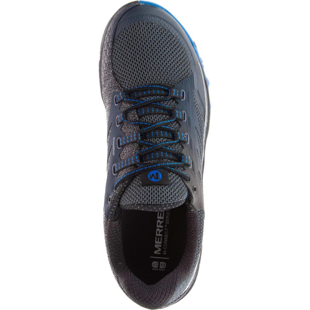 MERRELL Men's All Out Charge Running Shoe, Dark Slate - DARK SLATE