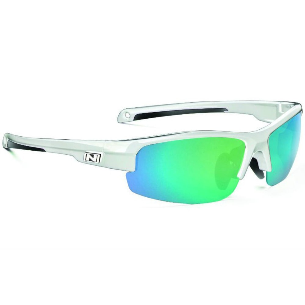 OPTIC NERVE Unisex Micron Sunglasses - SHINY WHITE