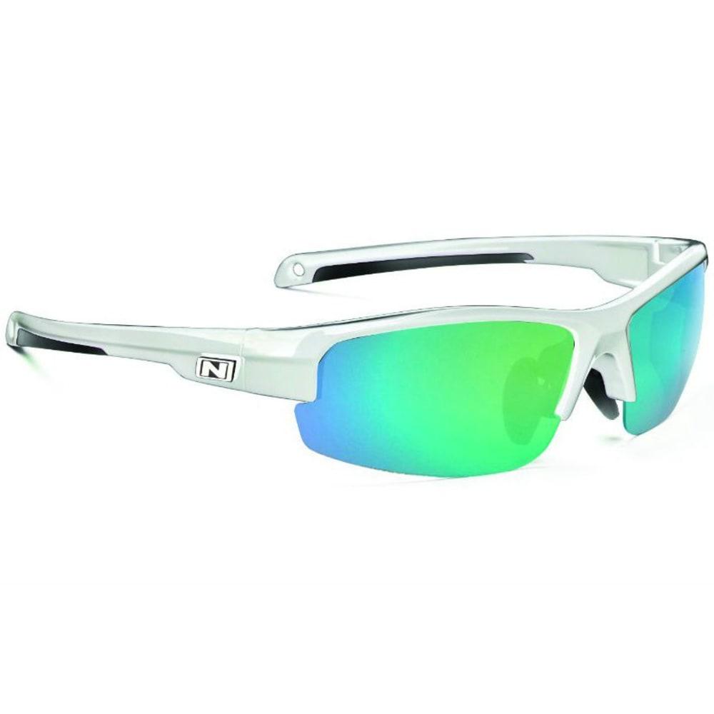 OPTIC NERVE Unisex Micron Sunglasses - SHINY WHITE