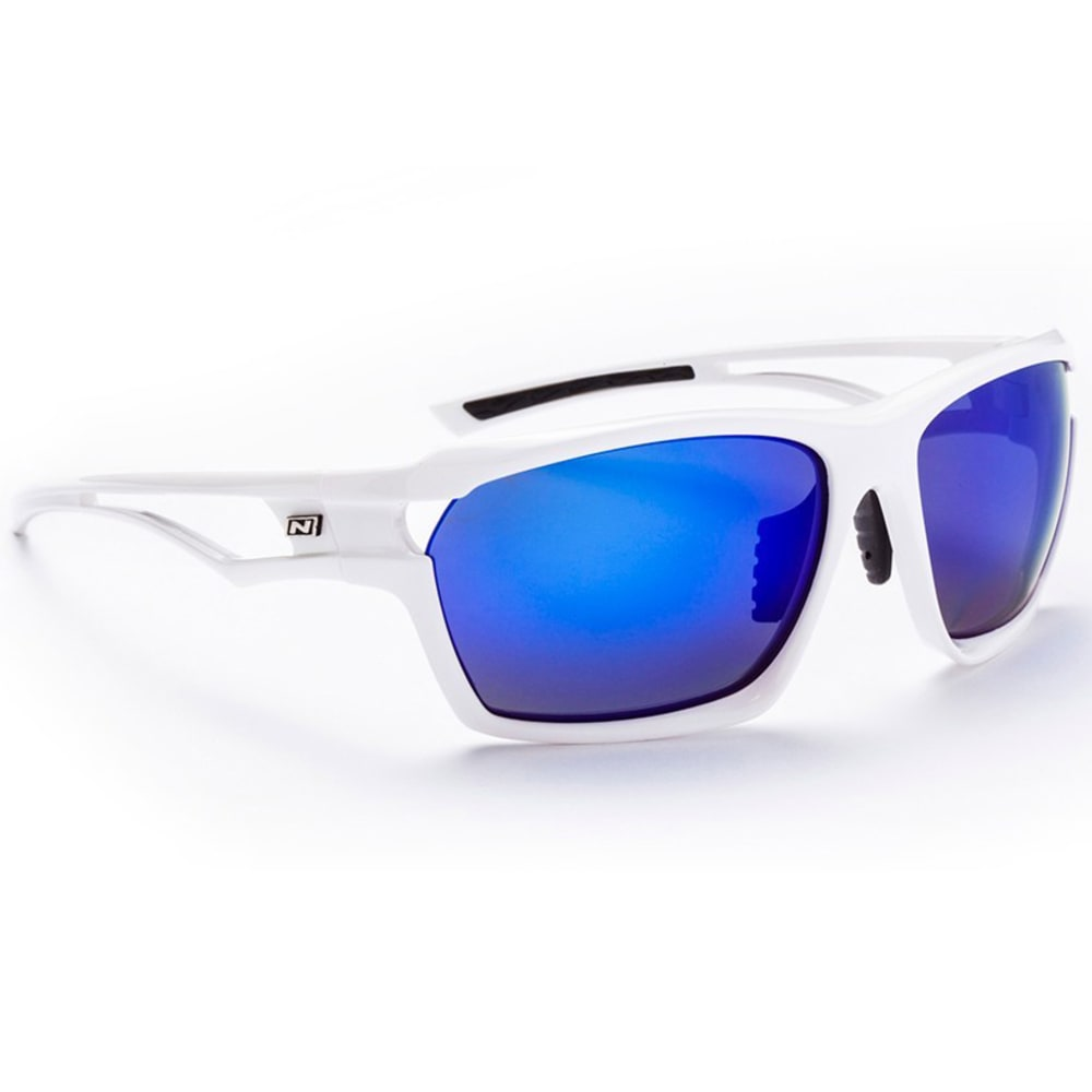 OPTIC NERVE Unisex Variant PM Sunglasses - SHINY WHITE