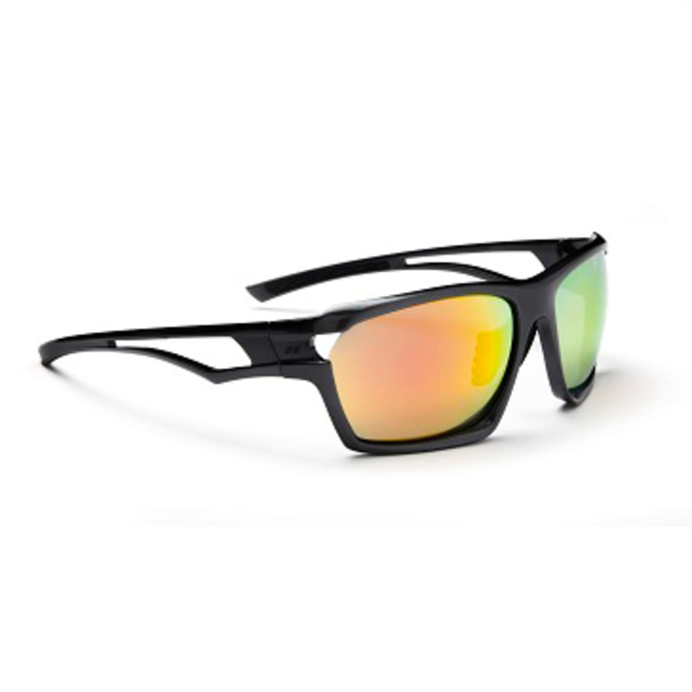 OPTIC NERVE Unisex Variant Sunglasses with Interchangeable Lenses - CARBON