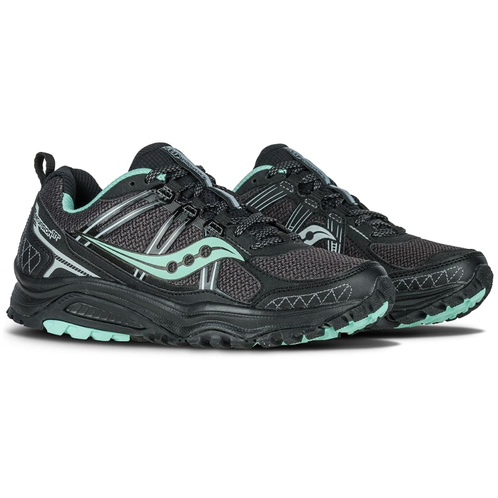 SAUCONY Women's Excursion TR10 Trail Running Shoes, Black