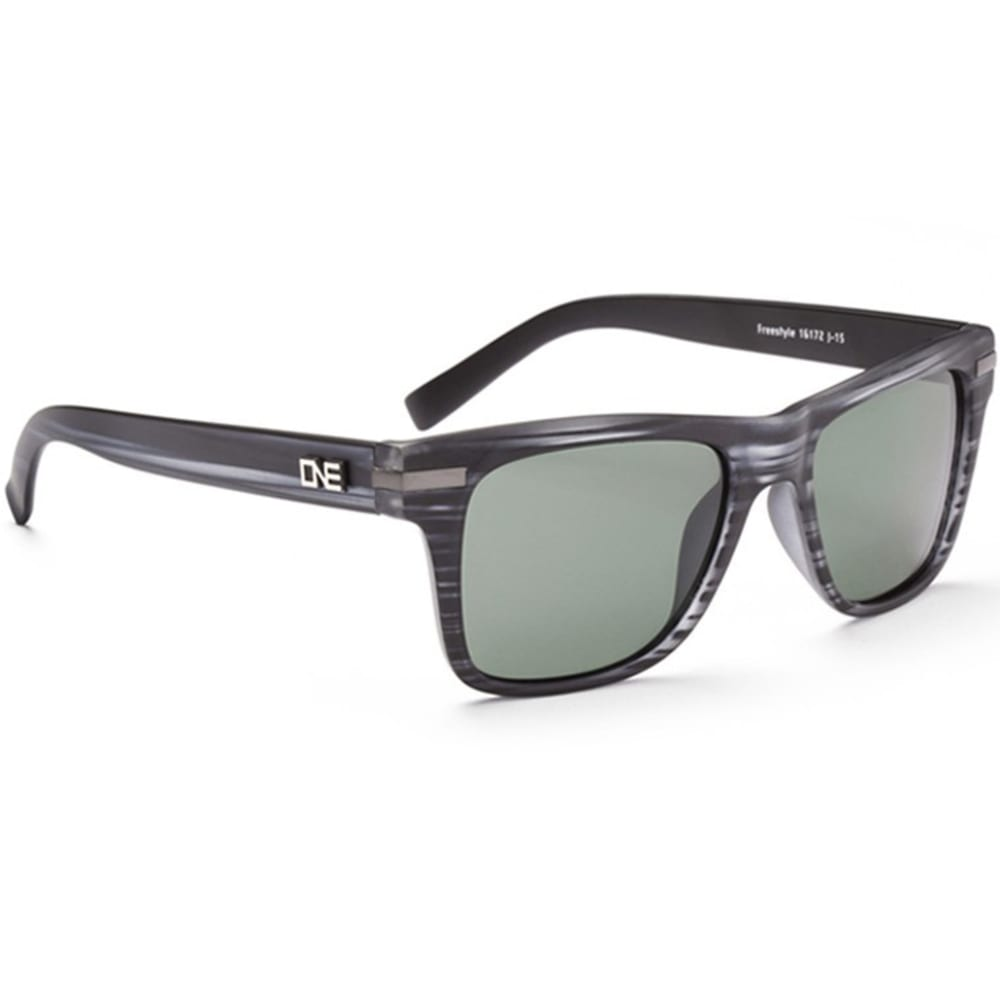 ONE BY OPTIC NERVE Men's Freestyle Sunglasses - GREY