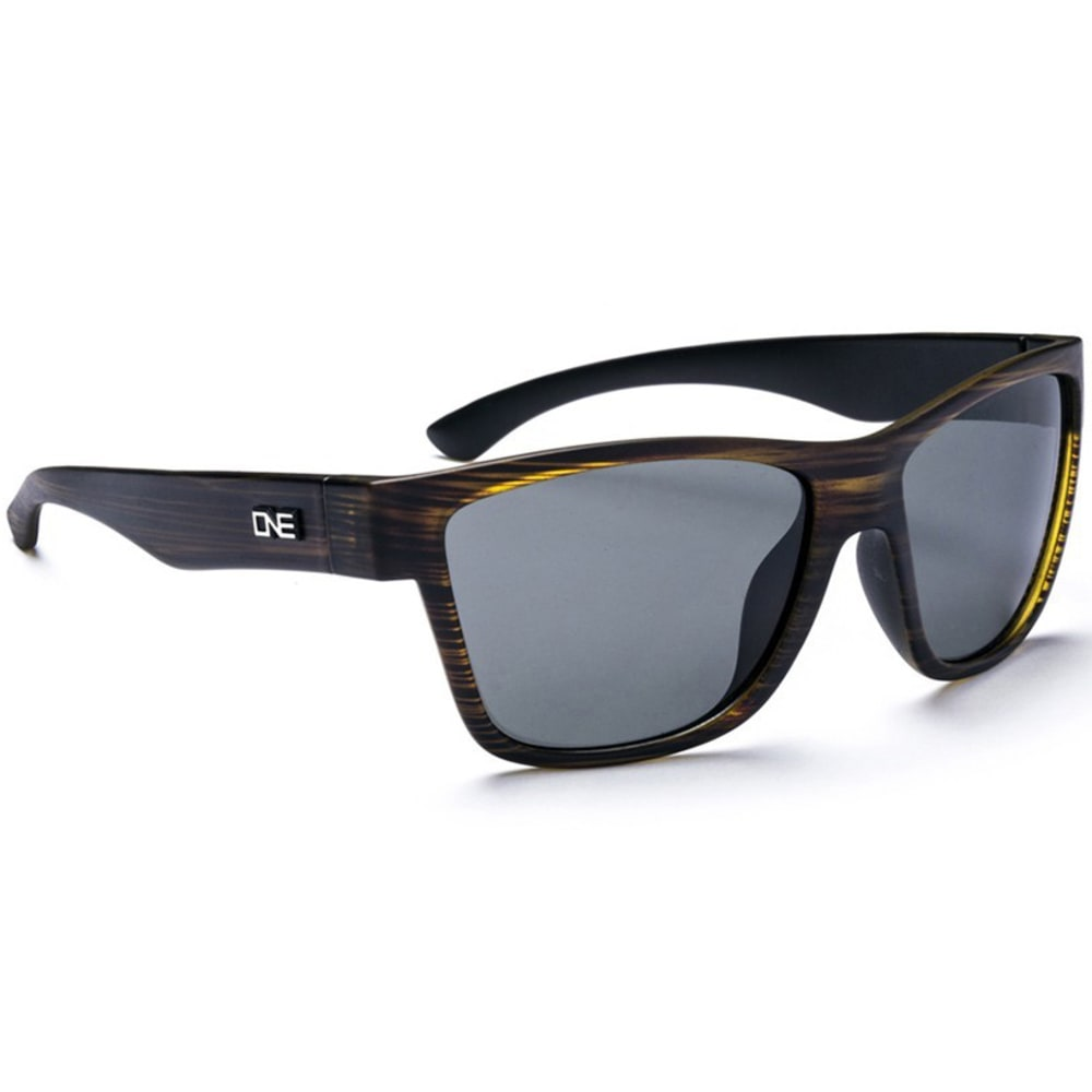 ONE BY OPTIC NERVE Unisex Spektor Sunglasses - BROWN